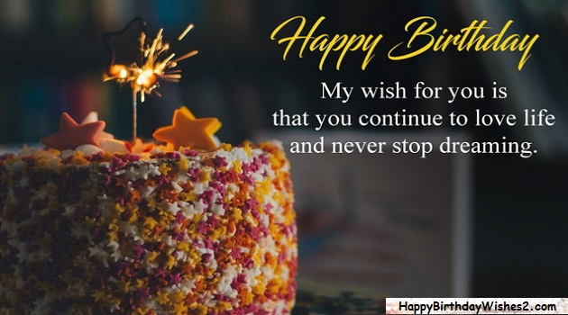 Happy Birthday Love Quotes For Lover