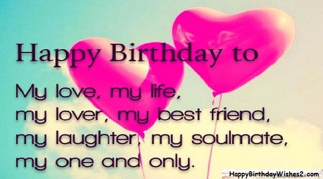 Happy Birthday My Love.Top 100 Happy Birthday Wishes Messages Quotes For Lover