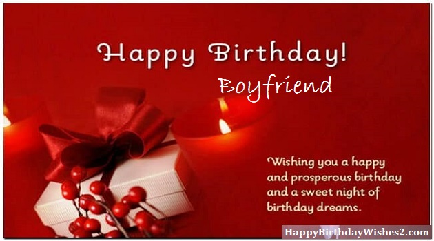happy birthday wishes for boyfriend