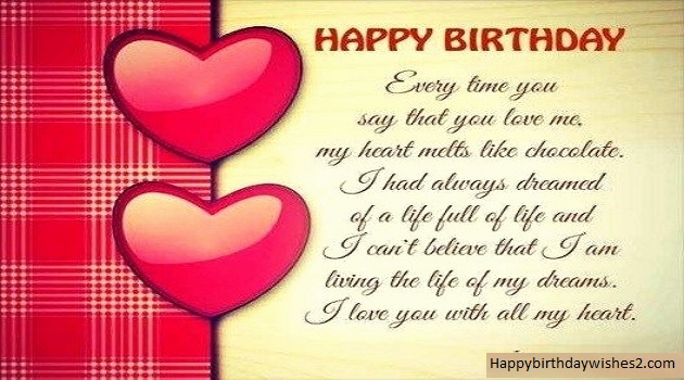 100 Romantic Birthday Wishes, Messages, Quotes, Status for ...