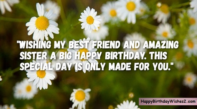 100 Best Happy Birthday Wishes, Messages, and Quotes for Sister
