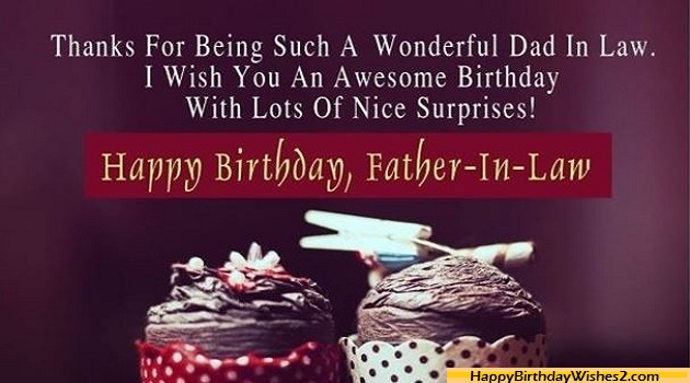 100 Birthday Wishes, Messages, Quotes for Father-in-Law