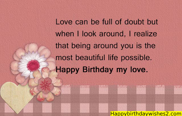 Birthday Messages for Him