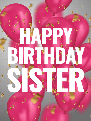 happy birthday sister images hd