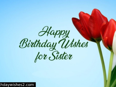 100+ Happy Birthday Text Messages for Sister | SMS in Hindi