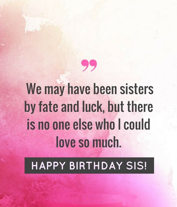 happy birthday my sister image