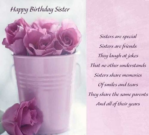 free happy birthday sister images