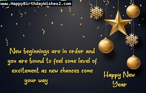 happy new year wish to boss