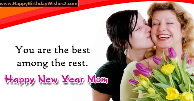 happy new year to my mom