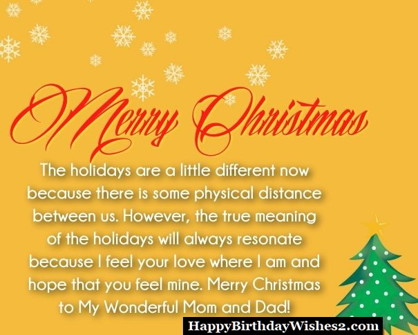 merry christmas messages for mom