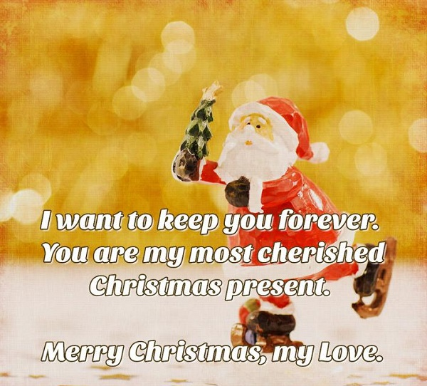 merry christmas messagse to love