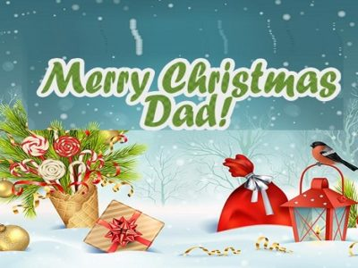 Merry Christmas Wishes, Messages, Quotes for Dad (Father)