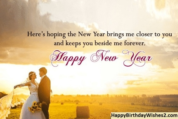 new year messages for him