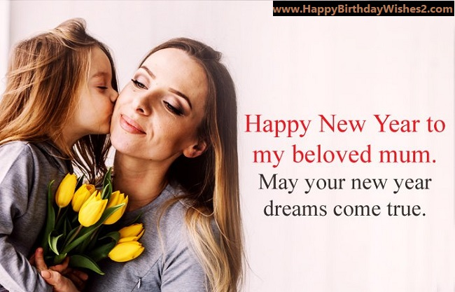 new year wishes for mother