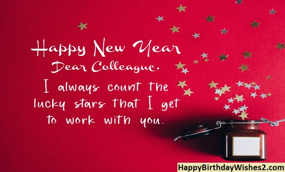 new year wishes from boss to staff