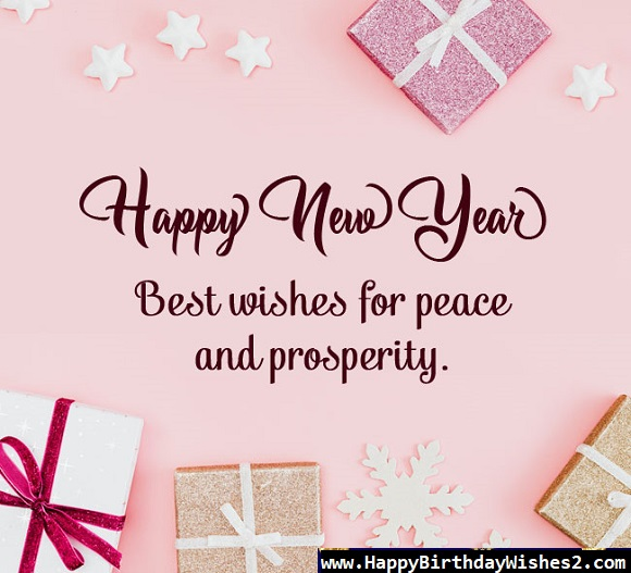 new year wishes in english