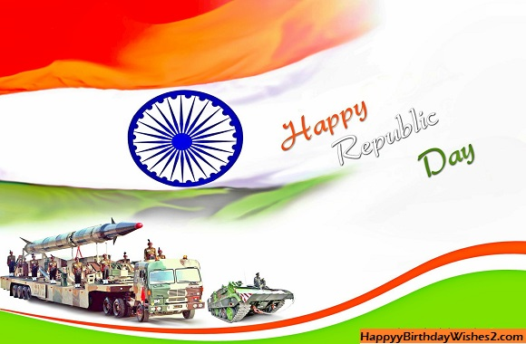 greeting card on republic day