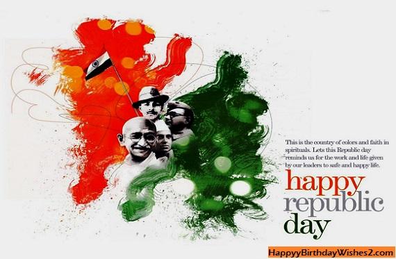 good morning happy republic day 2021
