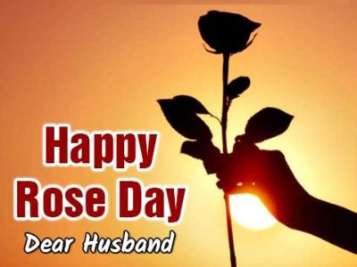 🌹 Rose Day Wishes, Messages, Quotes, Status for Husband (Him)