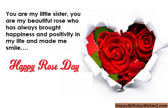 happy rose day sister