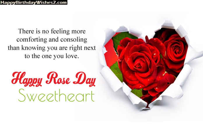 rose day messages for love
