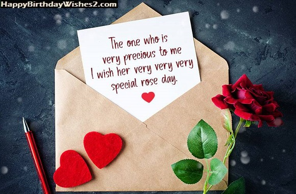 rose day messages for wife