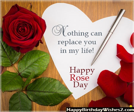 rose day quotes for her