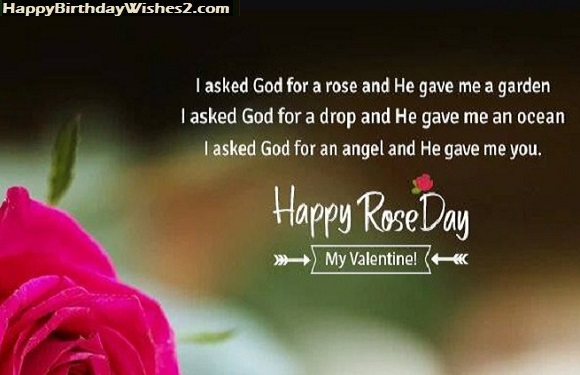 rose day wishes for gf