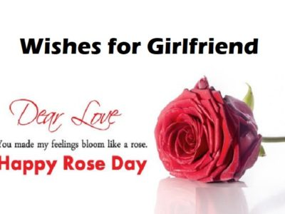 Rose Day Wishes, Messages, Quotes for Girlfriend (Her) | Shayari, Status