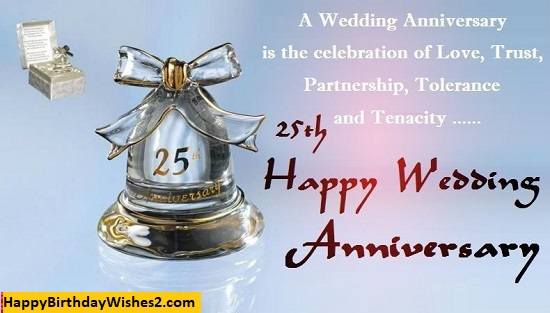 happy 25th anniversary to my wife