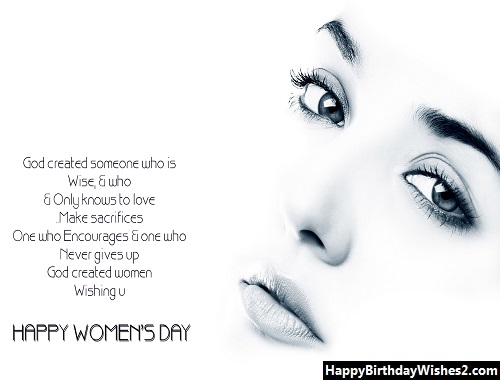 women's day wishes to girlfriend