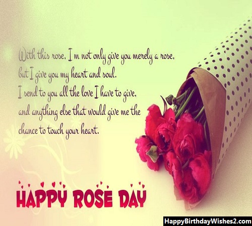happy rose day images for husband