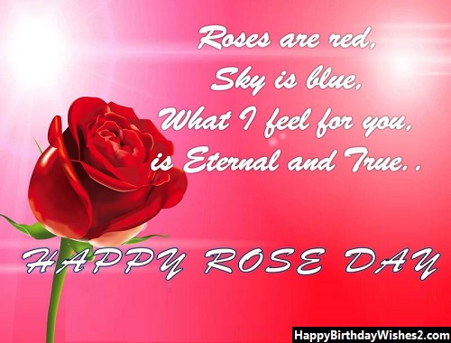 happy rose day love images