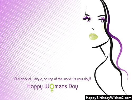 women's day wishes to sister