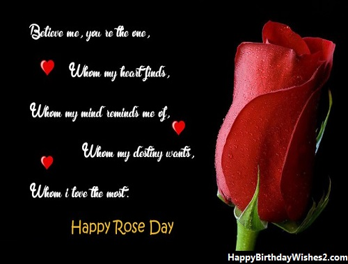 romantic rose day images