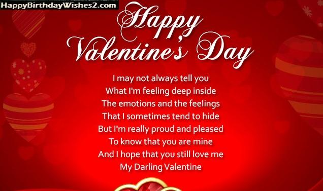 valentine messages for girlfriend
