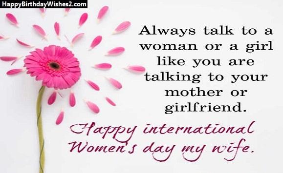 happy women's day to girlfriend