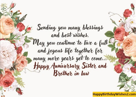 1st anniversary wishes for sister