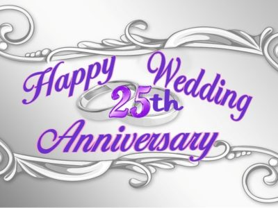 {50+} 25th Wedding Anniversary Wishes, Messages, Quotes for Uncle and Aunty