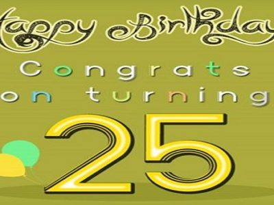 {35+} Best 25th Birthday Images, Photos, Picture, Wallpaper