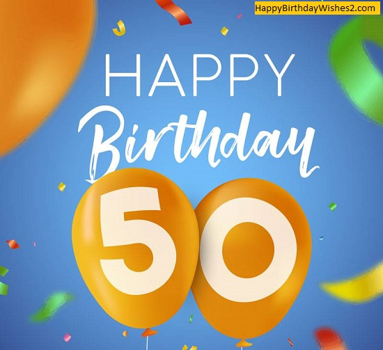50 and fabulous birthday images