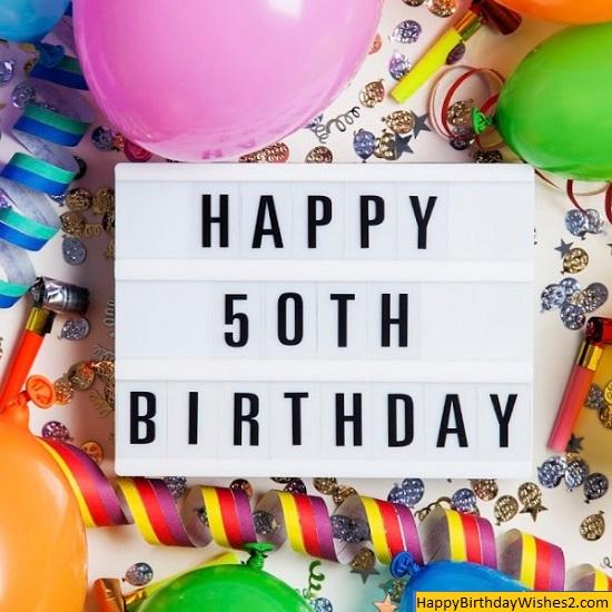 50 years birthday cake images
