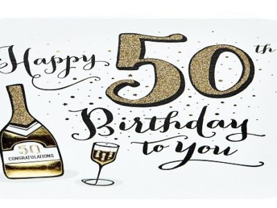 {100+} Best 50th Birthday Wishes, Messages, Quotes for Everyone