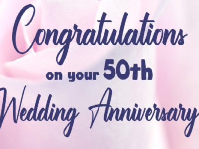 {35+} 50th Wedding Anniversary Images, Photos, Pics for Everyone