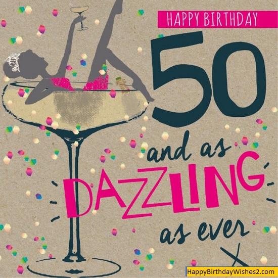 50th birthday cake images