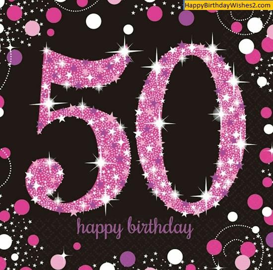 50th birthday clip art