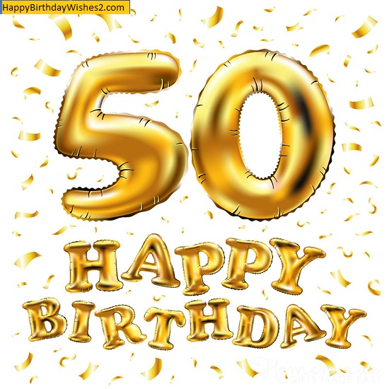 50th birthday images