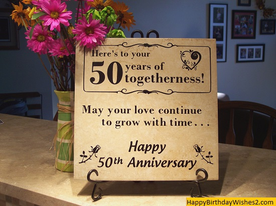 first wedding anniversary wishes for friend Beautiful 50th Wedding Anniversary Quotes