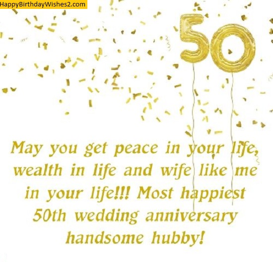 50th wedding anniversary quotes for husband