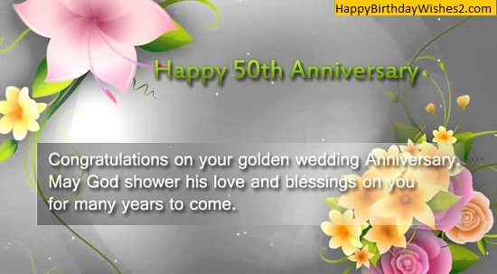50th wedding anniversary wishes images